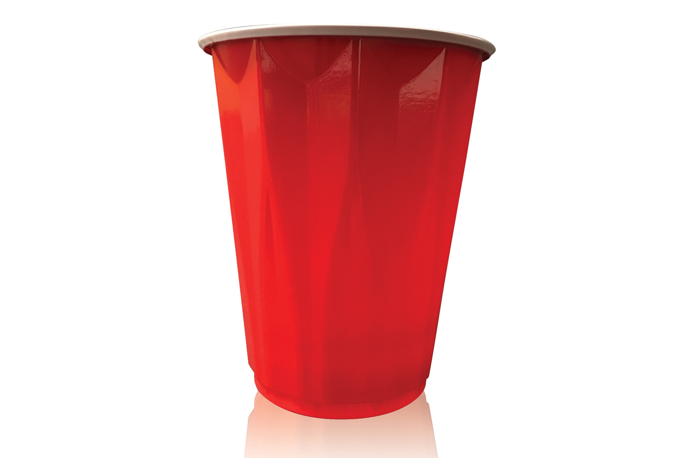 Apollo brand disposable red cold beverage drink cup
