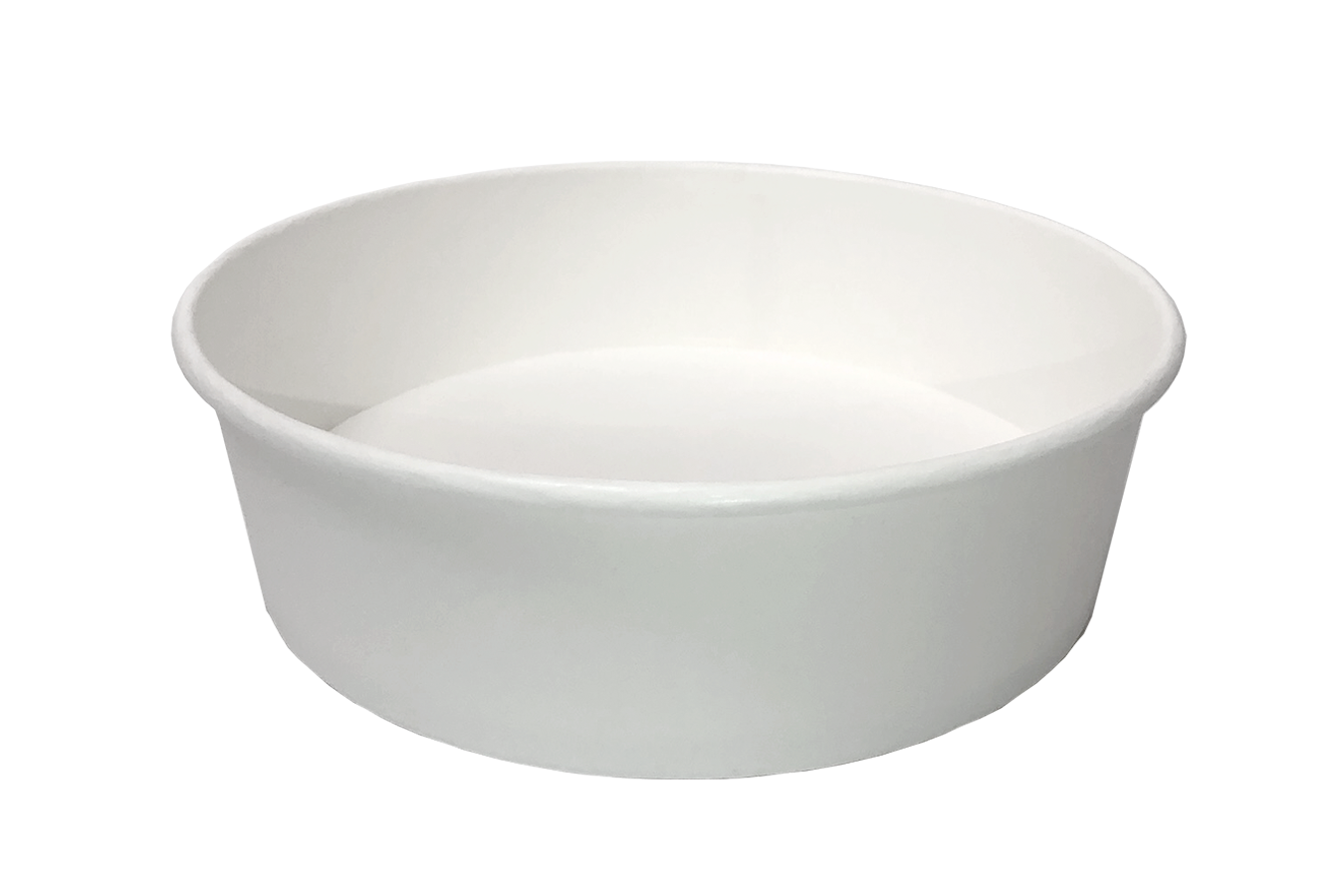 Premium takeout container white color 48 oz size Athena paper bowl by Ecoapx Inc