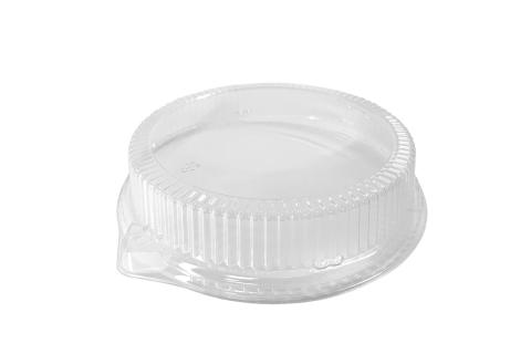 Clear PET Dome Lid for Ecopax Pebble 9 inches PP Plate